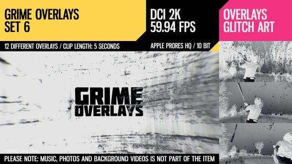 Thumbnail for Grime Overlays (2K Set 6)