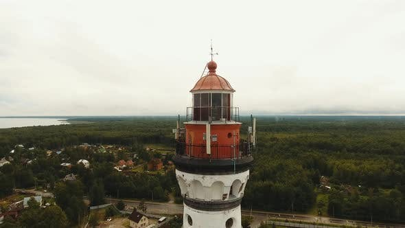 Thumbnail for Old Lighthouse on the Coast.