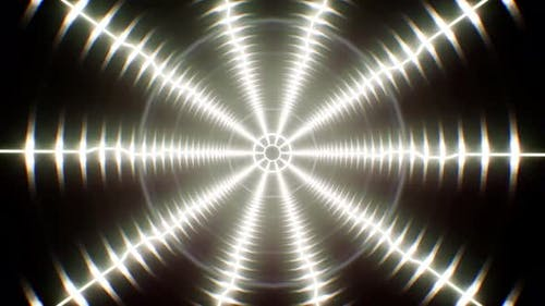 Electric Wave Background 4K Loop