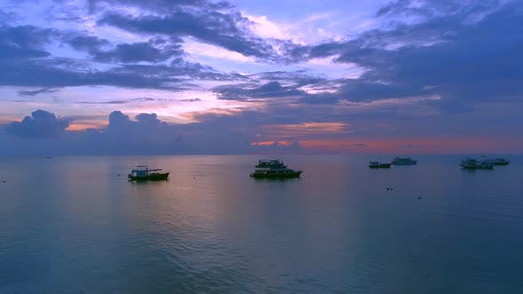 Thumbnail for Amazing Sunset over Sea