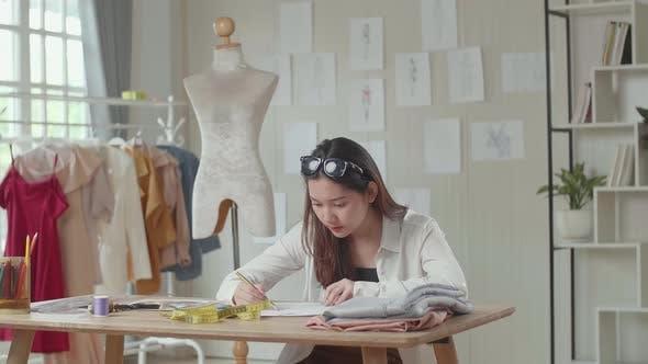 Asian Female Fashion Designer