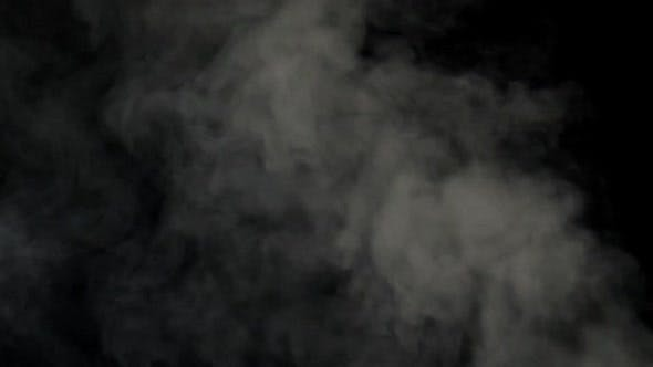 Thumbnail for Abstract white smoke footage