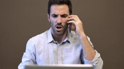 Executive Man Frustrated