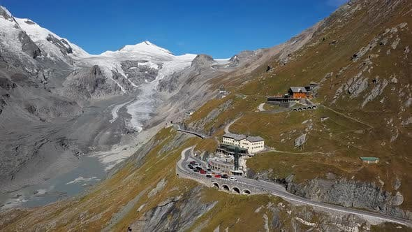 Thumbnail for Aerial of Grossglockner Austria