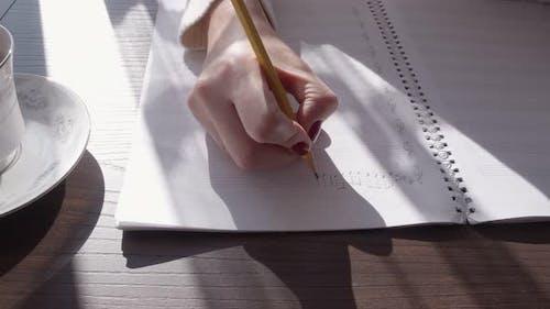 Eine musikalische Notiz schreiben