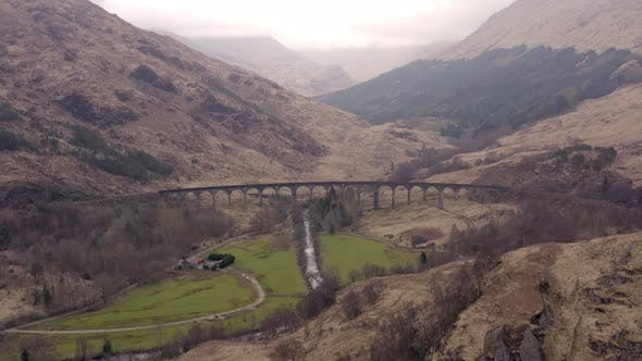 Thumbnail for Glenfinnan Viaduct in the Highlands of Scotland A Beautiful Scottish Landmark