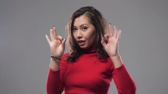 Thumbnail for Asian Girl Shows Ok