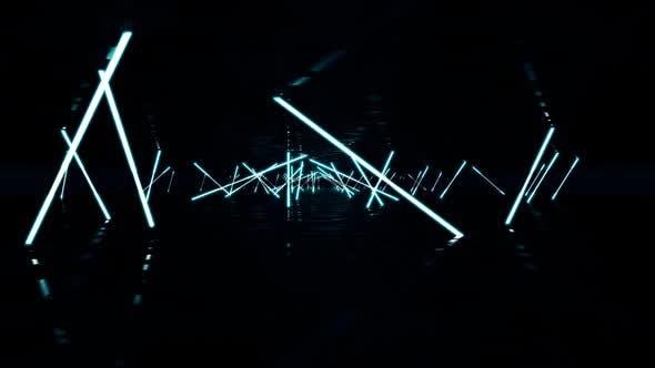 Thumbnail for VJ Background Neon Lights