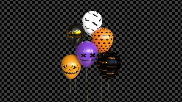 Halloween-Ballons