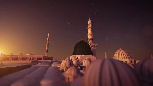 Thumbnail for Al Masjid an Nabawi 3d mosque 2