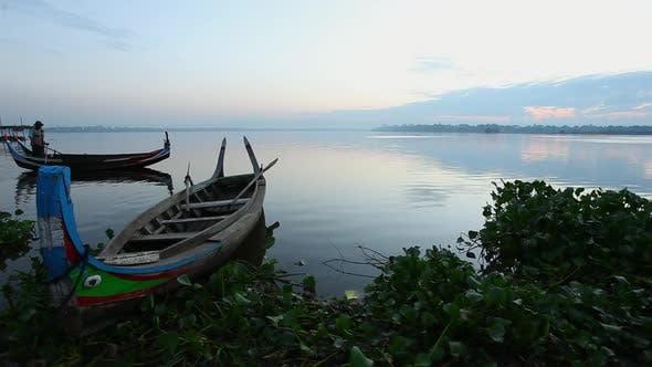 Thumbnail for Man rowing boat