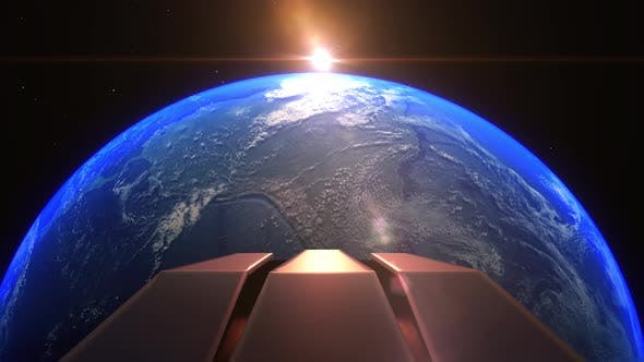 Earth Night South America Alien Invasion