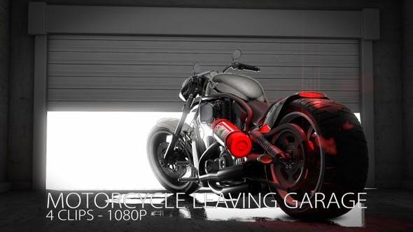 Thumbnail for Motorcycle Inside Garage