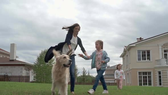 Thumbnail for Walking with Family Pet