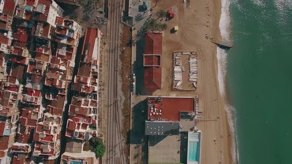 Thumbnail for Coast in Barcelona, Aerial View