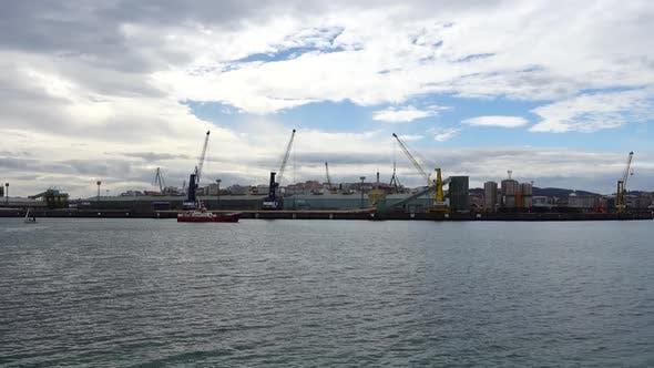 Thumbnail for Port in the City La Coruna