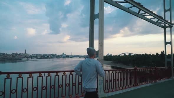 Thumbnail for Guy Runs City Listening To Music