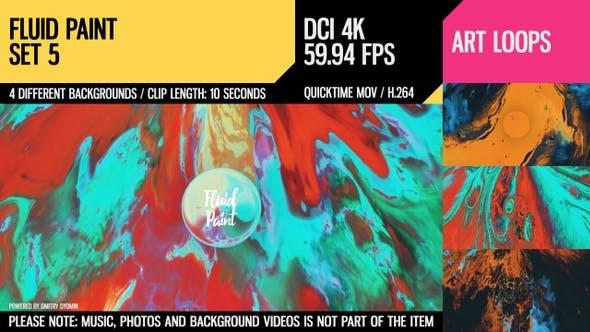 Fluid Paint (4K Set 5)