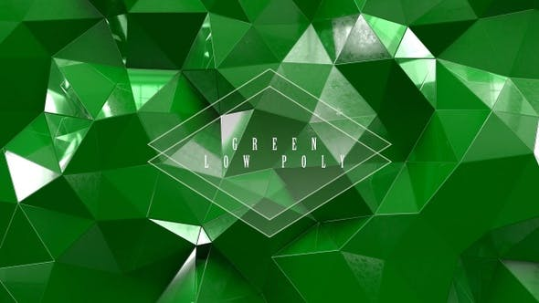 Thumbnail for Green Low Poly With Glass