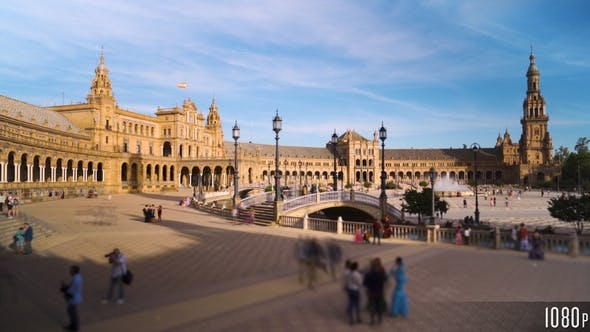 Thumbnail for The Plaza de Espana, Spain Square