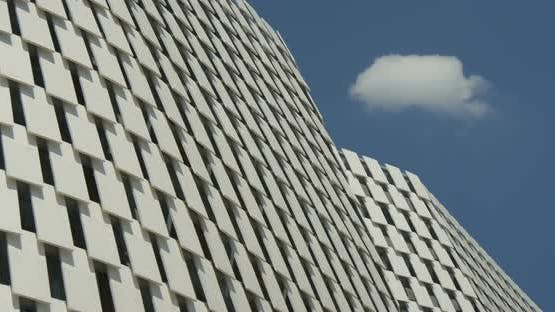 Architectural Metal White Pattern