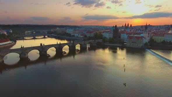 Thumbnail for Bridges of Prague Including the Famous Charles Bridge, Czech Republic, Europe