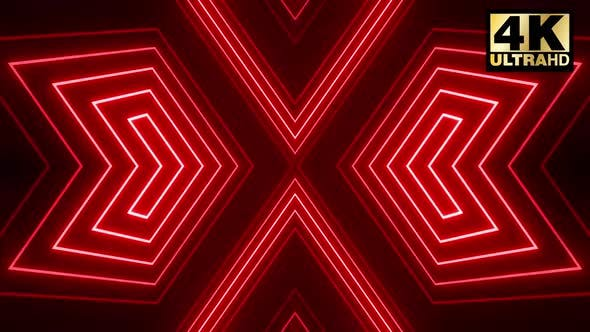 Cover Image for Red Shape Vj Loop Pack