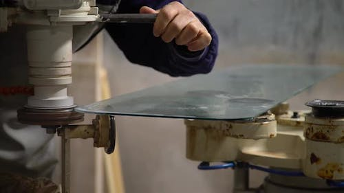 Glass Edging And Bevelling Machine