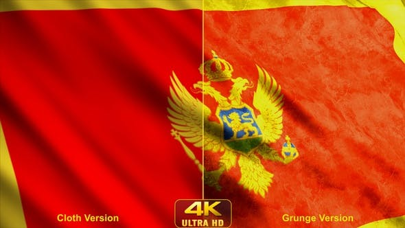 Montenegro Flags