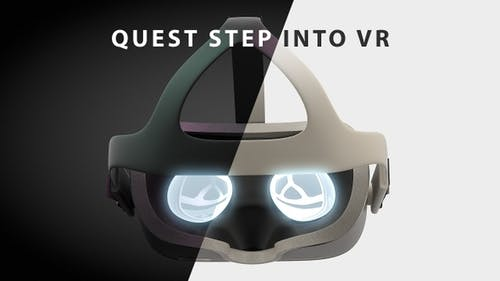 Quest HMD Step Into VR