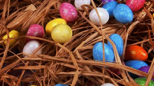 Thumbnail for Colorful Traditional Celebration Easter Paschal Eggs 37