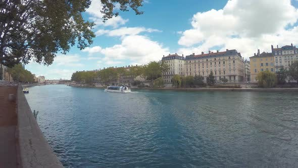 Thumbnail for Waterfront Of The City Of Lyon, France