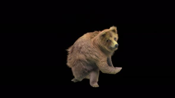 170 Bear Great Sword High Spin Attack 4K