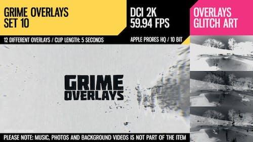 Grime Overlays (2K Set 10)