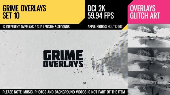 Thumbnail for Grime Overlays (2K Set 10)
