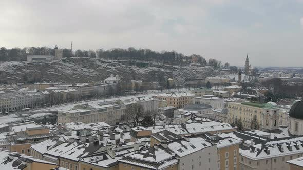 Thumbnail for Winter cityscape of Salzburg