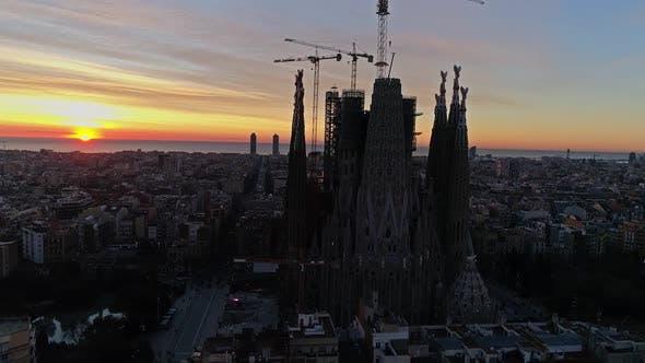 Thumbnail for Sunset in Barcelona