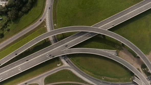 Thumbnail for Aerial Highway Traffic