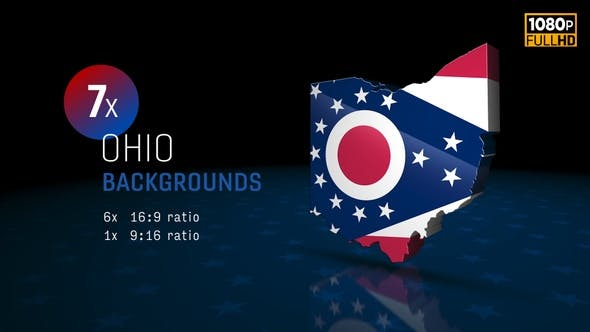 Ohio State Election Backgrounds HD - 7 Pack