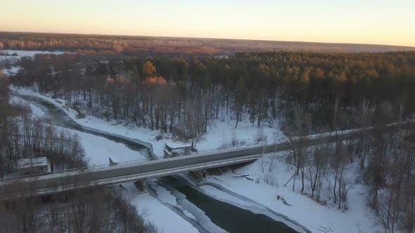 Thumbnail for Bridge Over Frozen River