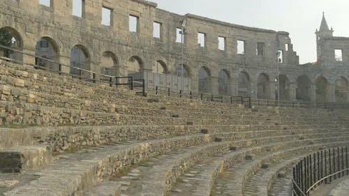 Tribune of a Roman amphitheater