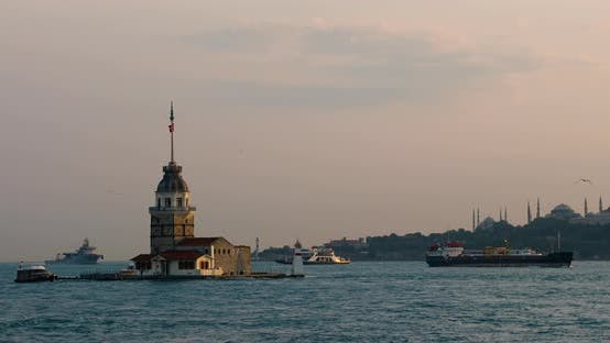 Thumbnail for View Of Istanbul Kizkulesi