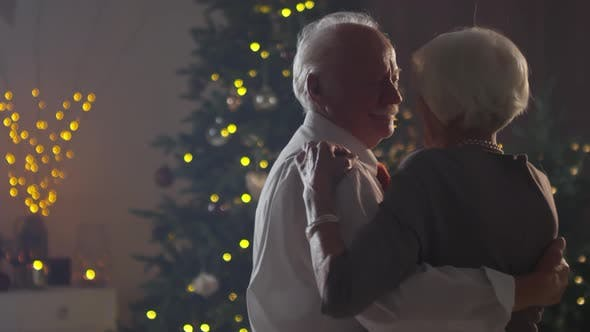 Cover Image for Romantic Christmas of Elderly Couple