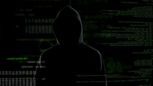 Hacker gibt bedrohliche Botschaft an die Privatsphäre und den nationalen Sicherheitsterrorismus