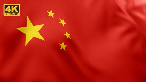 Thumbnail for Flag of China - 4K