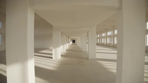 Empty Industrial Premises, Newly Built