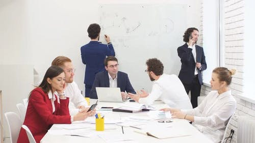 Young Business Leaders in Office