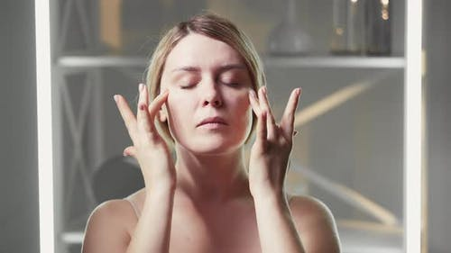 Face Massage Facial Fitness Wrinkle Skincare Woman
