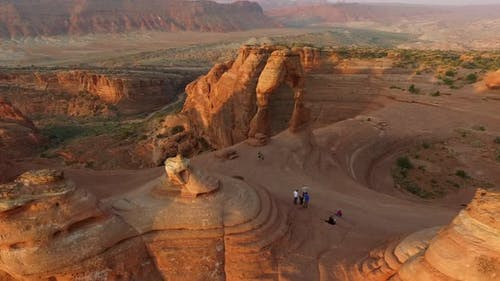 Sunrise at Delicate Arch, Arches National Park, Utah