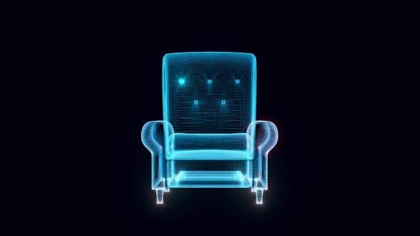 Armchair Hologram Hd